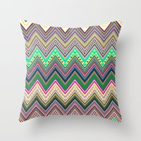 blast of summer new colour! Throw Pillow