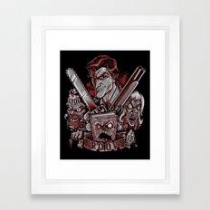 Come Get Some Framed Art Print