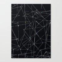 Lines 2 Canvas Print