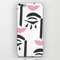 Modern Art Face iPhone & iPod Skin