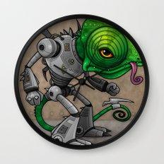 Chameleozoid Wall Clock