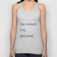 Dean Winchester Is My Sp… Unisex Tank Top