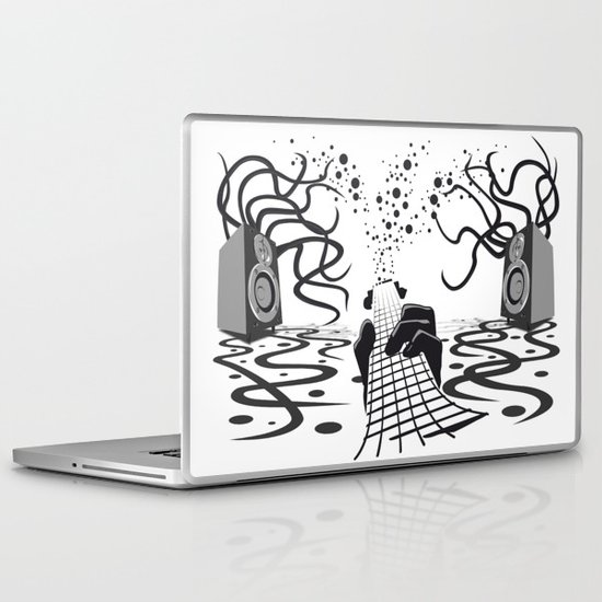 Vibration Laptop & iPad Skin