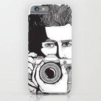 iPhone & iPod Case featuring James Dean by Kirstie Battson