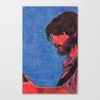 John Bell- Close Up Canvas Print