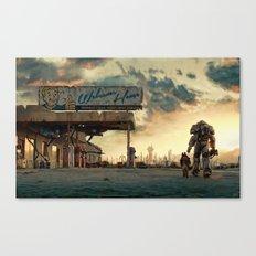 Fallout 4 - The Wanderer Canvas Print