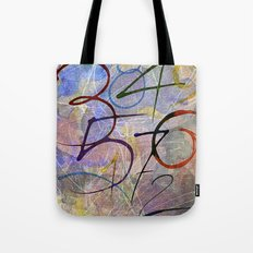 Days are numbers Tote Bag