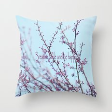 Spring Air Throw Pillow