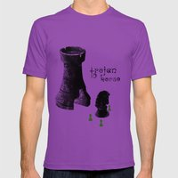 Chess Rook - Trojan Hors… Mens Fitted Tee Ultraviolet SMALL
