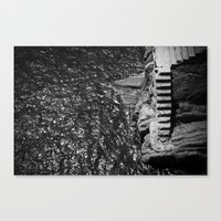 Stares to the water  Canvas Print