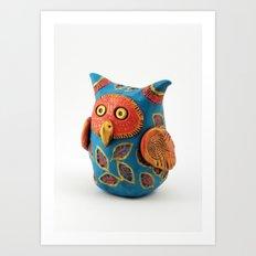 Oswald Owl Art Print