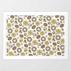 Cookies ♥ Art Print