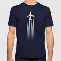 See Mens Fitted Tee Navy SMALL