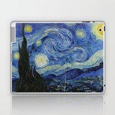Starry Night by Vincent van Gogh Laptop & iPad Skin