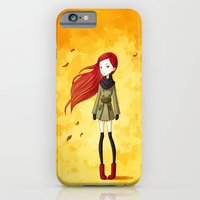 iPhone & iPod Case featuring Autumn Breeze by Freeminds