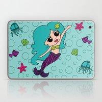 Mermaid Hair Laptop & iPad Skin