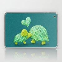 Turtle Hugs Laptop & iPad Skin