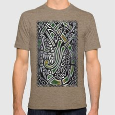 Celtic Birds Knot Work 3… Mens Fitted Tee Tri-Coffee SMALL