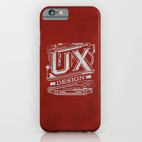 iPhone & iPod Case featuring UX - Industrial Design - Red by tomekbiernat