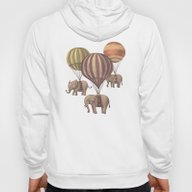 Flight Of The Elephants  Hoody