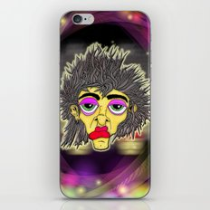 Space Face iPhone & iPod Skin