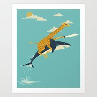 Onward! Art Print