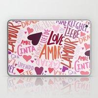Love Languages Laptop & iPad Skin