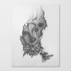 3 Faces Canvas Print
