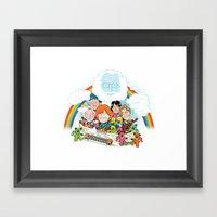 Grateful Dead + Trey Reu… Framed Art Print