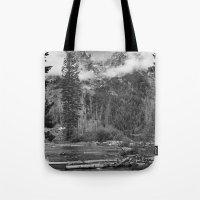 Birch Hallow, Teton Mountains Tote Bag