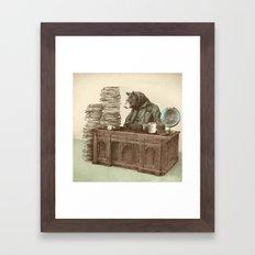 Bearocrat Framed Art Print