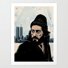 Serpico Art Print