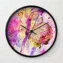 lost rose Wall Clock