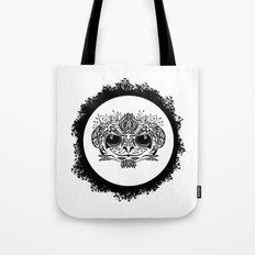 Half Evil Wild Monkey Tote Bag