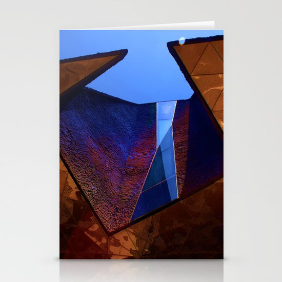 Angles in Barcelona Stationery Card