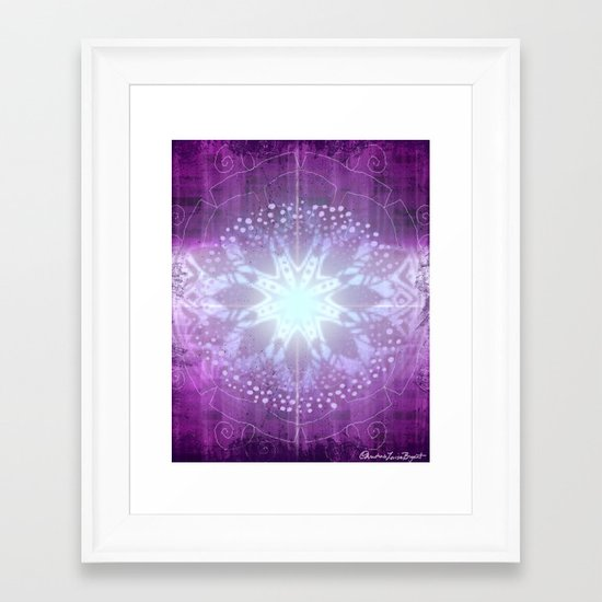 Ajna - Chakra 6 Framed Art Print