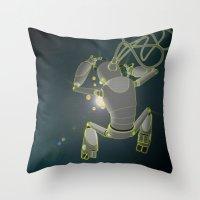 Quantum magic Throw Pillow