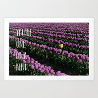 You're One Of A Kind Art Print