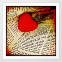 1 Corinthians 13:4  Art Print
