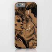 Marla & Tyler doodle iPhone 6 Slim Case