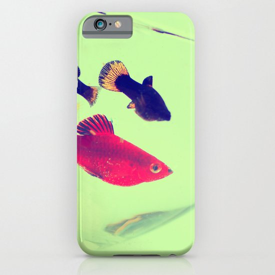 fish abstract iPhone & iPod Case