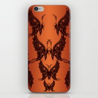 Butterfly Masks Tribal iPhone & iPod Skin