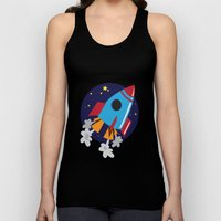Space Cruiser Unisex Tank Top