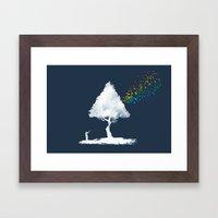 colourful hunting Framed Art Print