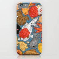 iPhone & iPod Case featuring For The Love Of Goldfish by Amz Kelso