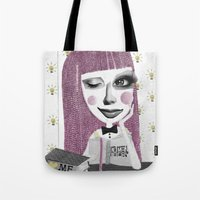 I Think Therefore I Am..… Tote Bag