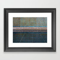 Star Wall And Reflection Framed Art Print