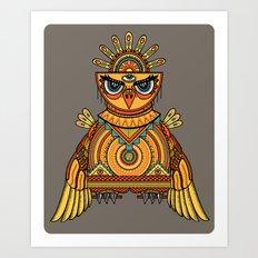 Ahuitzotl Art Print