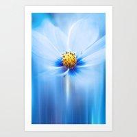 MIDNIGHT BLUE Art Print