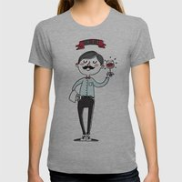 Ooh La La - The Wine Is … Womens Fitted Tee Athletic Grey SMALL